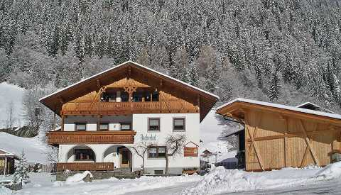 Winter- and ski vacations in Pfitsch near Sterzing, South Tyrol